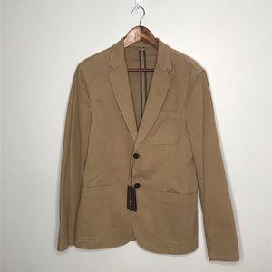 Michael Kors khaki sport coat blazer slim fit